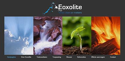 Eoxolite is een coating die de hoeveelheid koolstofdioxide co2 in de lucht kan afbreken tot wel 80%.