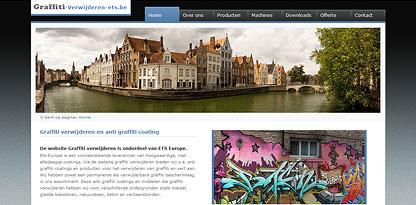Anti graffiti coatings en prodcuten om graffiti te verwijderen.