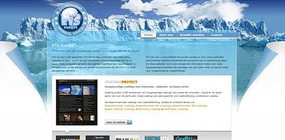 ETS-Europe corporate website